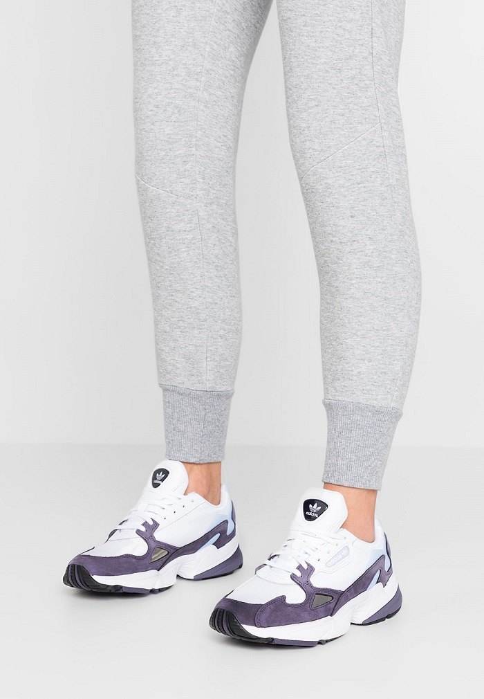 Adidas Originals FALCON Baskets basses trace purple/footwear ...