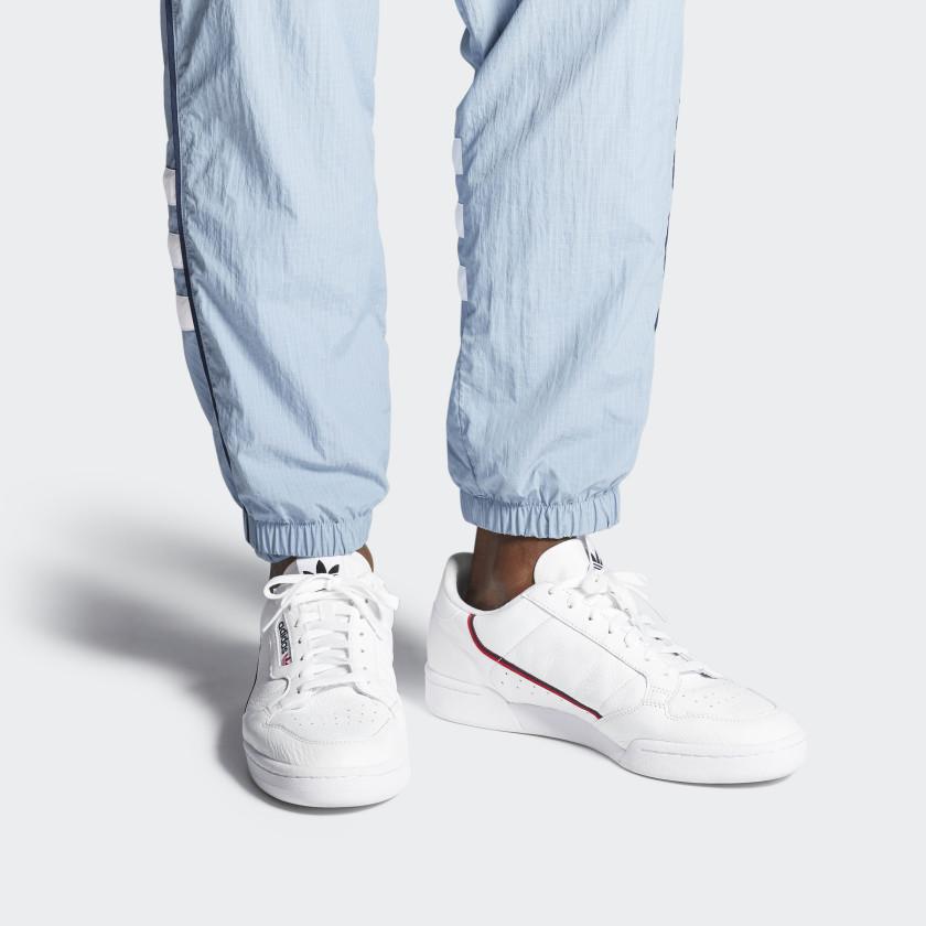Adidas Originals Continental 80 W Baskets Basses Blanc