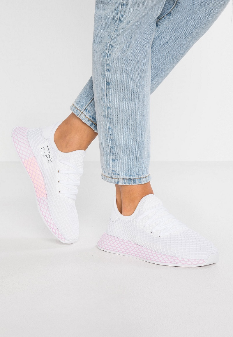 Adidas Originals DEERUPT Baskets basses footwear white/clear lila - Zalando