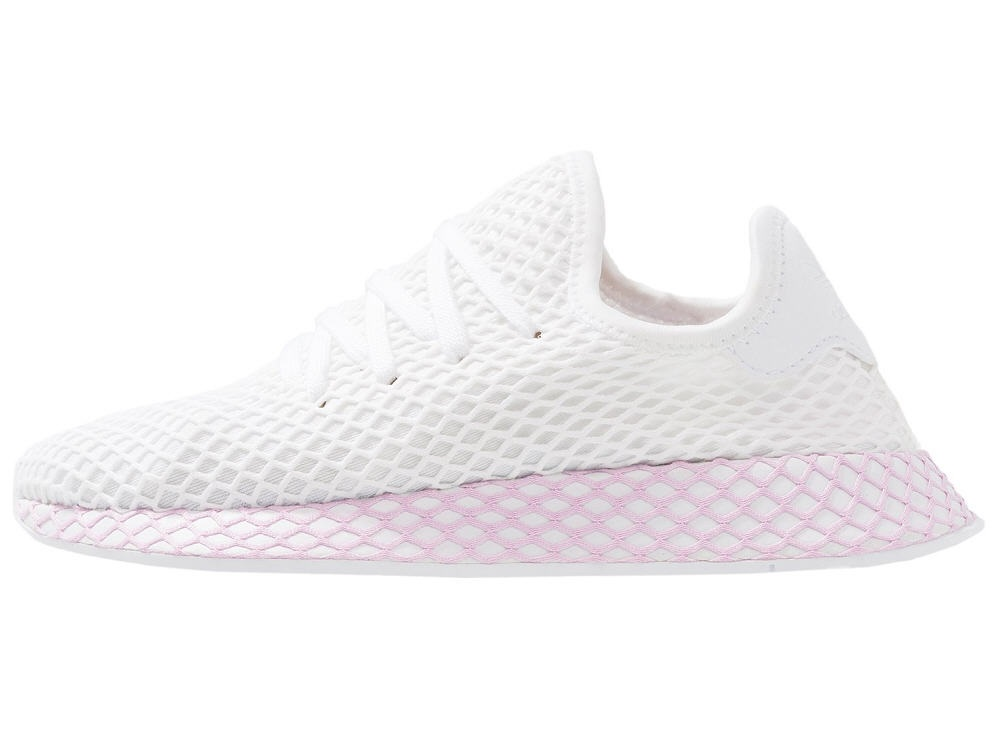 Adidas Originals DEERUPT Baskets basses footwear white/clear lila