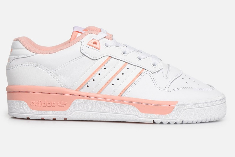 Adidas Originals Rivalry Low W Baskets Basses Ftwr White/Ftwr White/Glow Pink pour Femme