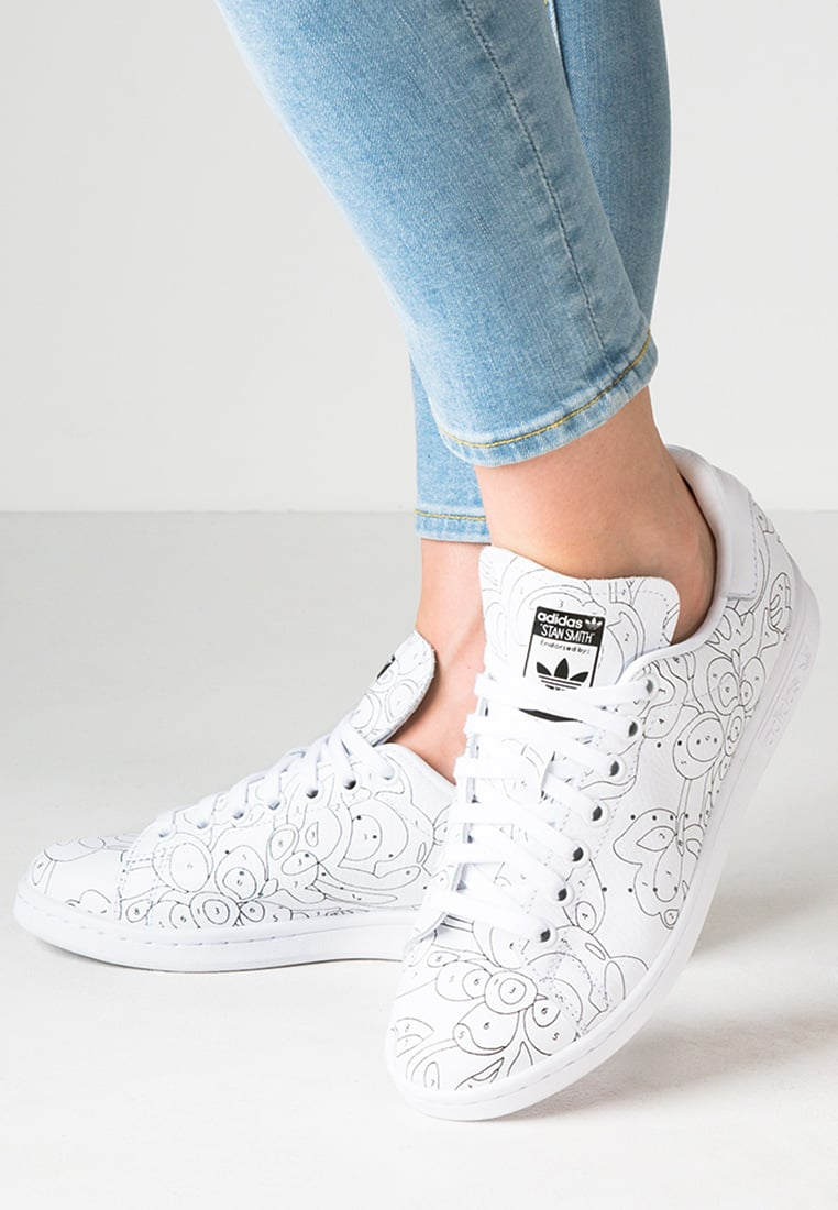 Adidas Originals STAN SMITH Baskets basses white/black