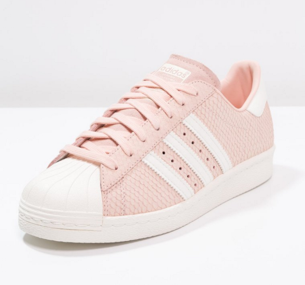 finest selection 9d415 aec79 Adidas Originals SUPERSTAR 80S Baskets basses blush pink offwhite, Baskets  Femme Zalando