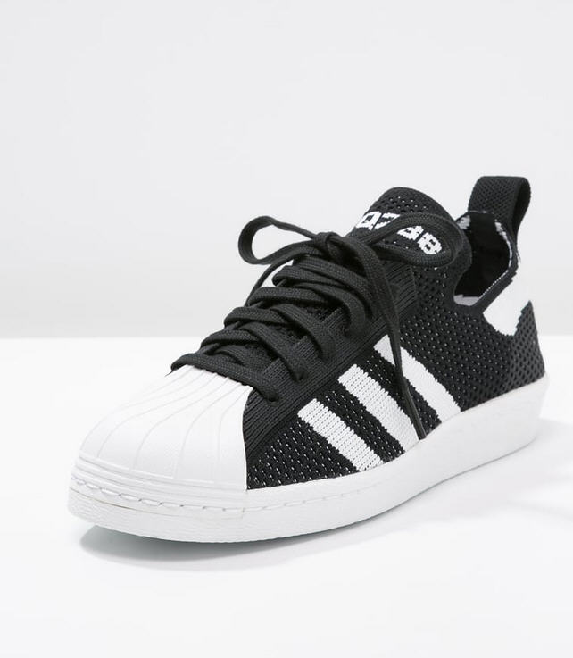 adidas original superstar black and white