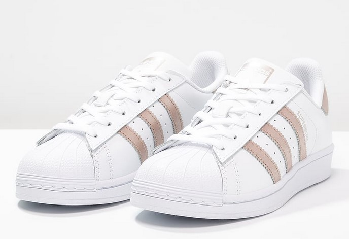adidas superstar femme rose gold