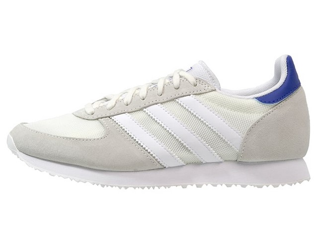 Adidas Originals ZX RACER Baskets basses offwhite/white/collegiate royal