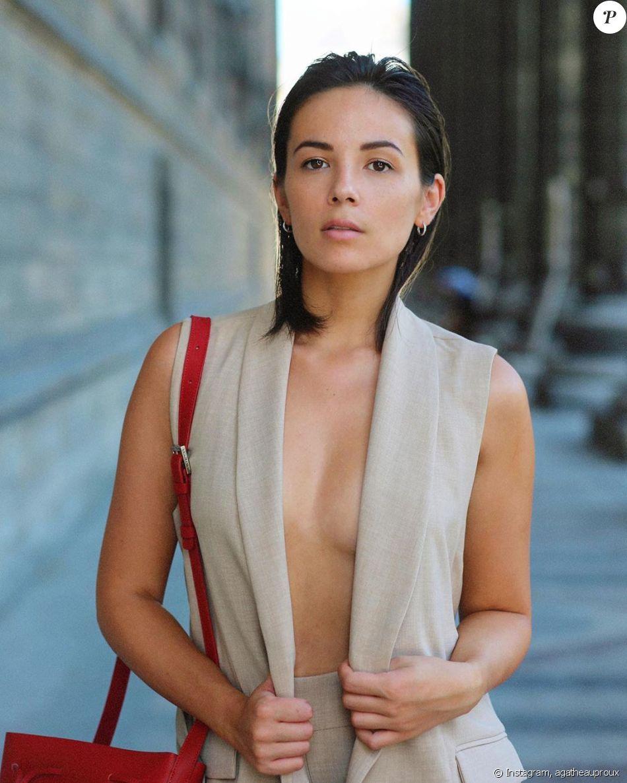 Agathe Auproux nue sous sa veste pour la rentrée : ses