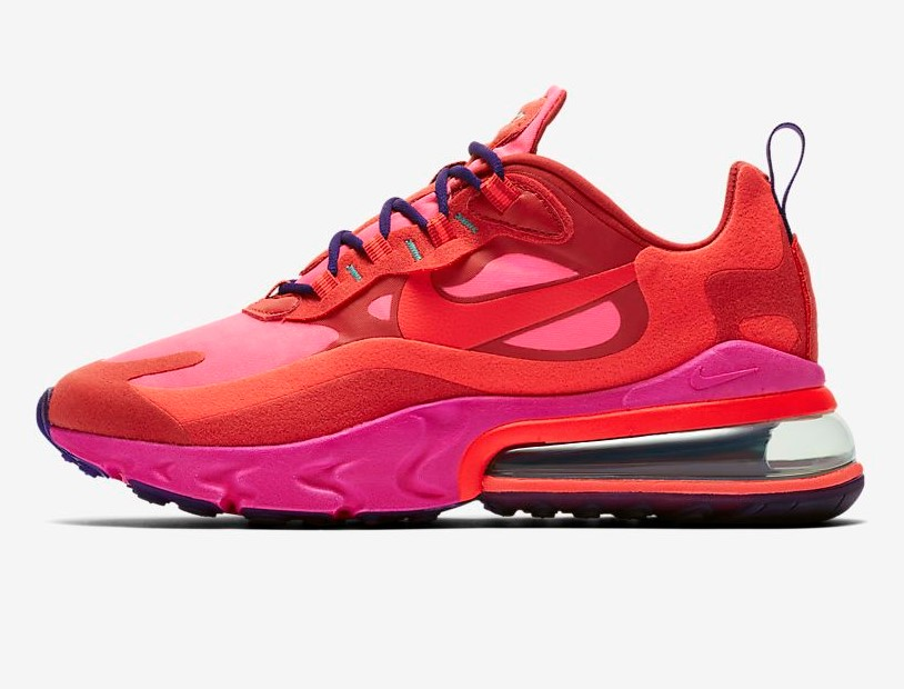 Nike Air Max 270 React Rouge Mystique/Explosion rose/Rouge