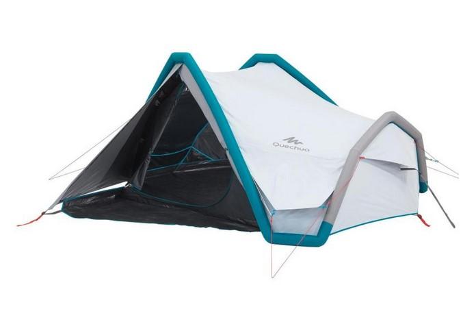 Tente de camping AIR SECONDS 3 XL FRESH&BLACK 3 personnes blanche QUECHUA