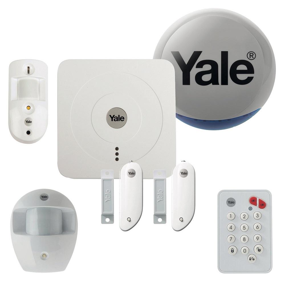 Alarme Maison Sans Fil Connectée Pack Dissuasion Sr 3200i YALE