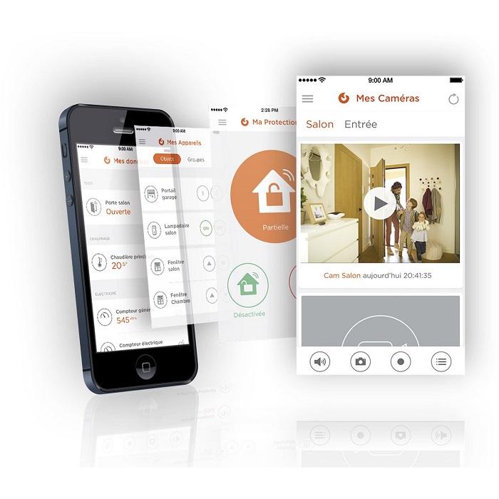 alarme maison evology ventana blog. Black Bedroom Furniture Sets. Home Design Ideas