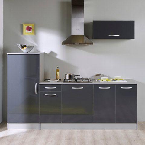 Alinéa Root Ensemble de meubles de cuisine prêt à installer gris on