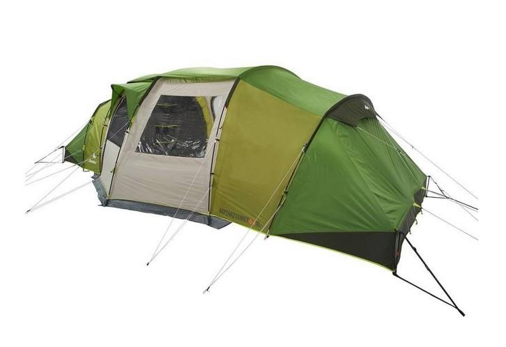 decathlon tente quechua tente 6 places 3 chambres t6 3 xl. Black Bedroom Furniture Sets. Home Design Ideas