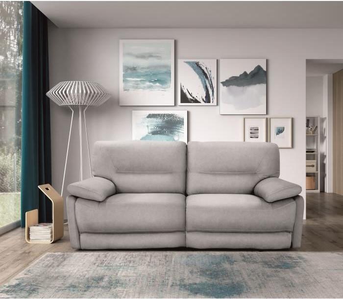 canap de relaxation lectrique 3 places orlando canap conforama. Black Bedroom Furniture Sets. Home Design Ideas
