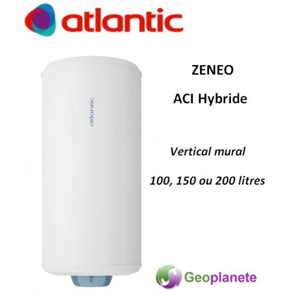 Chauffe Eau Atlantic O510 Aci Hybride Zeneo 100l Vertical