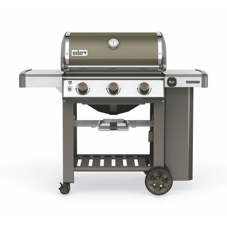 Barbecue Gaz Weber Genesis 2 E310 Gris Plancha Pas Cher Barbecue Castorama Iziva Com