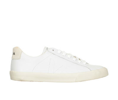 Baskets blanches cuir Esplar Blanc Veja, Baskets Veja Monshowroom