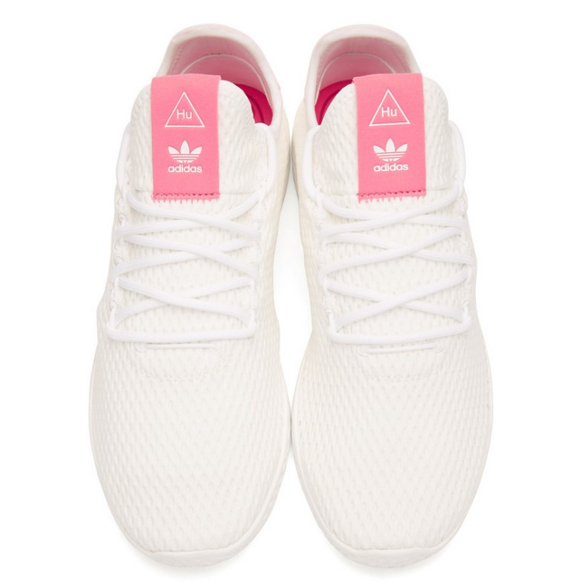 Blanches Et Roses Adidas Baskets Originals Pharrell X Williams 354jqSARcL