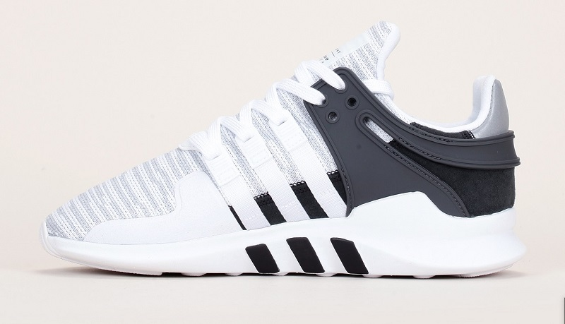 Baskets textile rayé blancgris EQT Support ADV Adidas