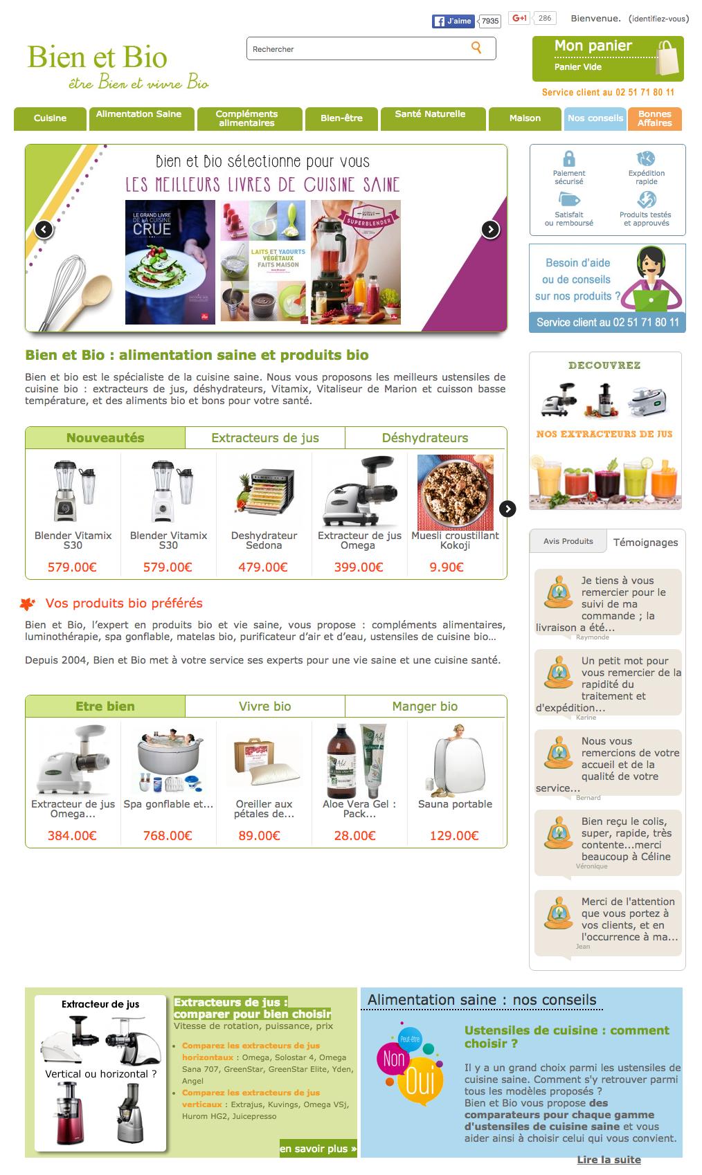 a340390cb46 Bien et Bio produit Bio - Découvrez la boutique Bien et Bio. Plus de 200  produits bio (cosmétiques bio