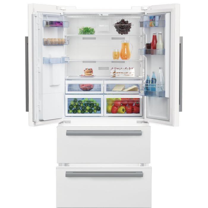 BEKO GNE530DW Réfrigérateur multiportes 530 L - Cdiscount