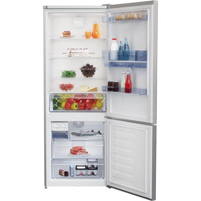 BEKO REC52S Réfrigérateur congélateur bas 450L - Cdiscount