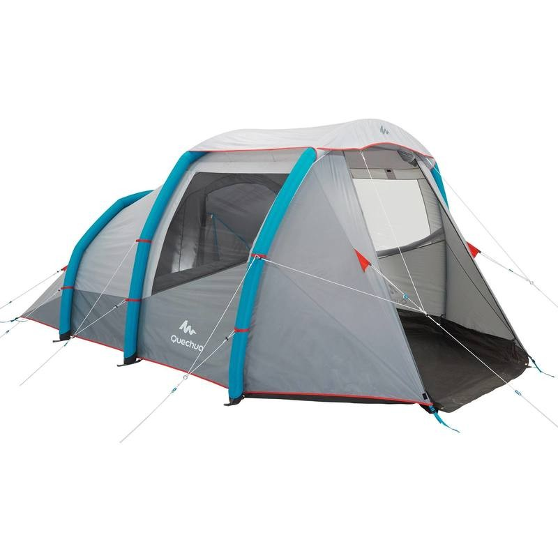 Air seconds family 4 1 xl quechua pas cher tente for Tente 2 chambres decathlon
