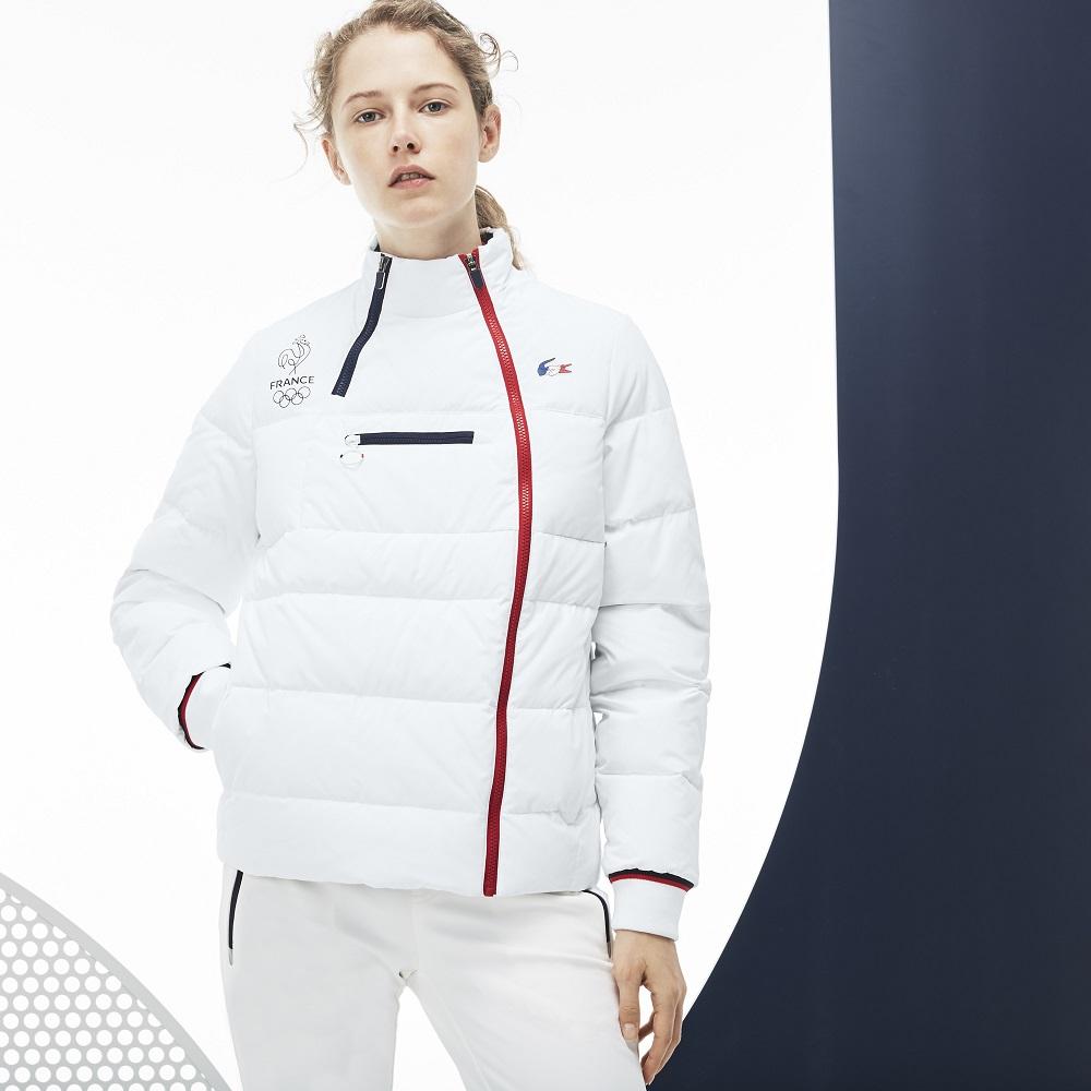France Technique Collection Sport Olympique Enduit Blouson Lacoste dCQhrts