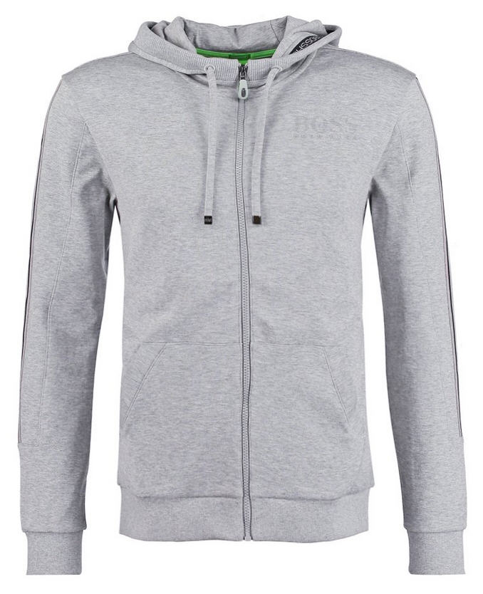 BOSS Green SAGGY Sweat zippé light/pastel grey, Sweat zippé homme Zalando