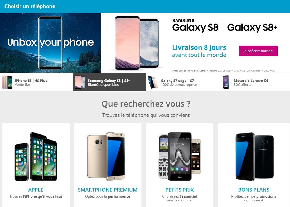 Telephone portable Bouygues Telecom