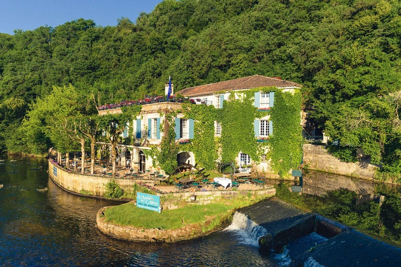 Résidence Le Moulin de l'Abbaye à Brantôme en Dordogne