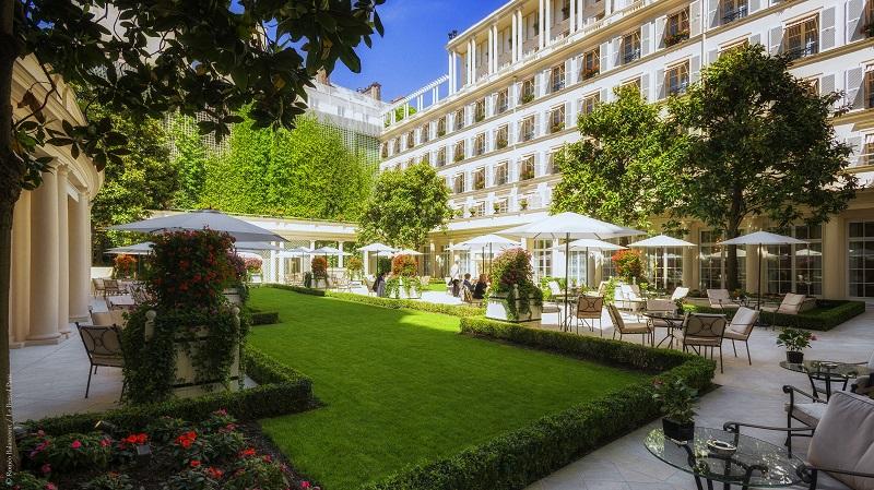 Le Bristol Paris Hotel à Paris 8e Arrondissement