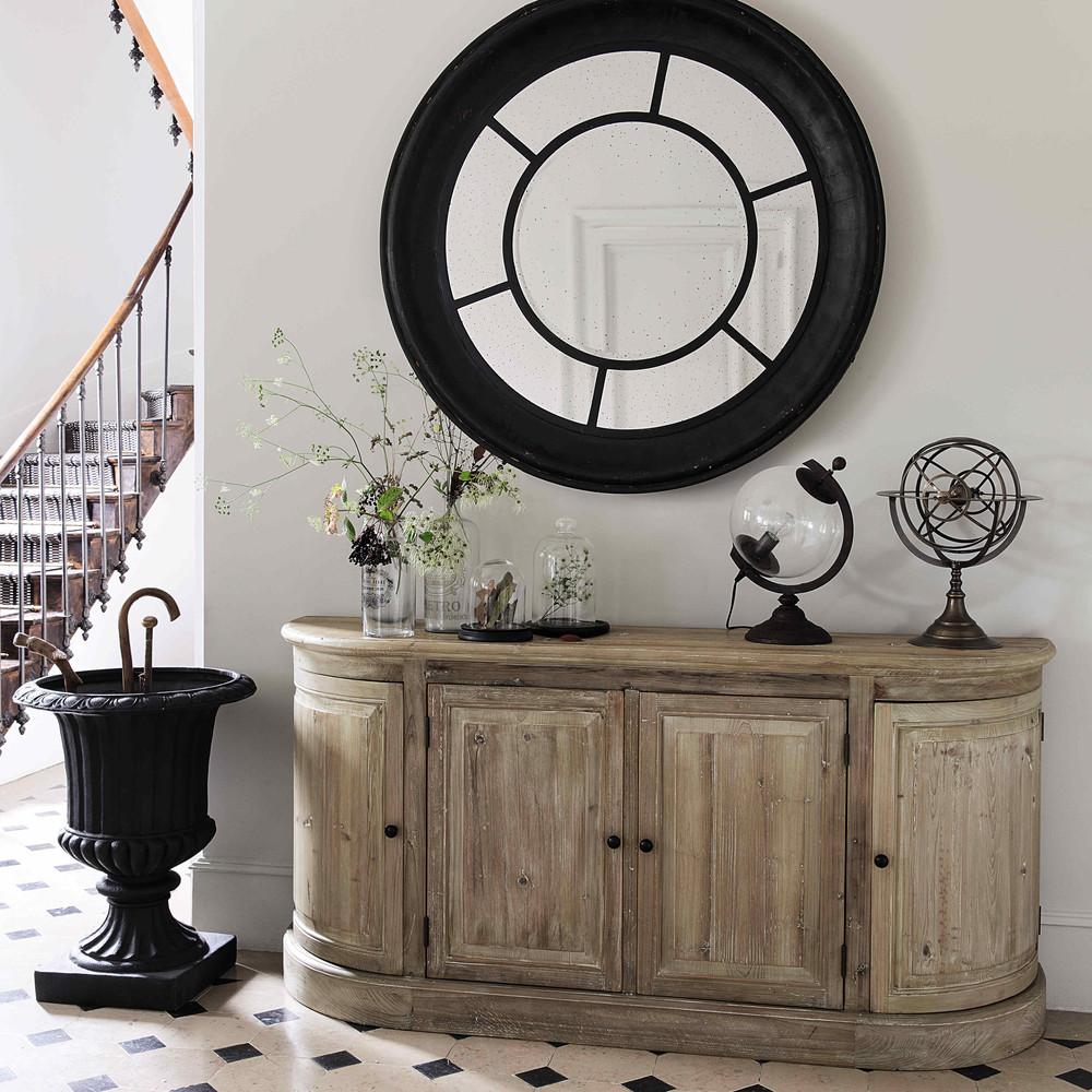 buffet en bois recycl pagnol buffet maisons du monde. Black Bedroom Furniture Sets. Home Design Ideas