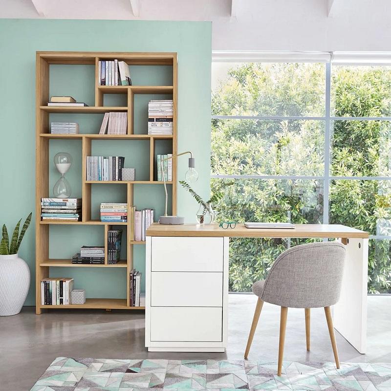Bureau blanc 3 tiroirs Austral - Maisons de Monde
