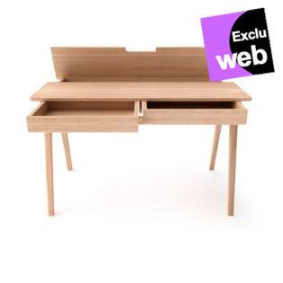 bureau student avec tiroirs et plateau relevable bureau alin a. Black Bedroom Furniture Sets. Home Design Ideas