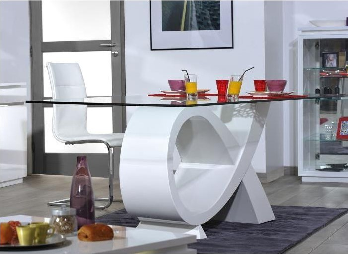Cdiscount Table A Manger.Buzz Table A Manger 8 Personnes Contemporain Pas Cher