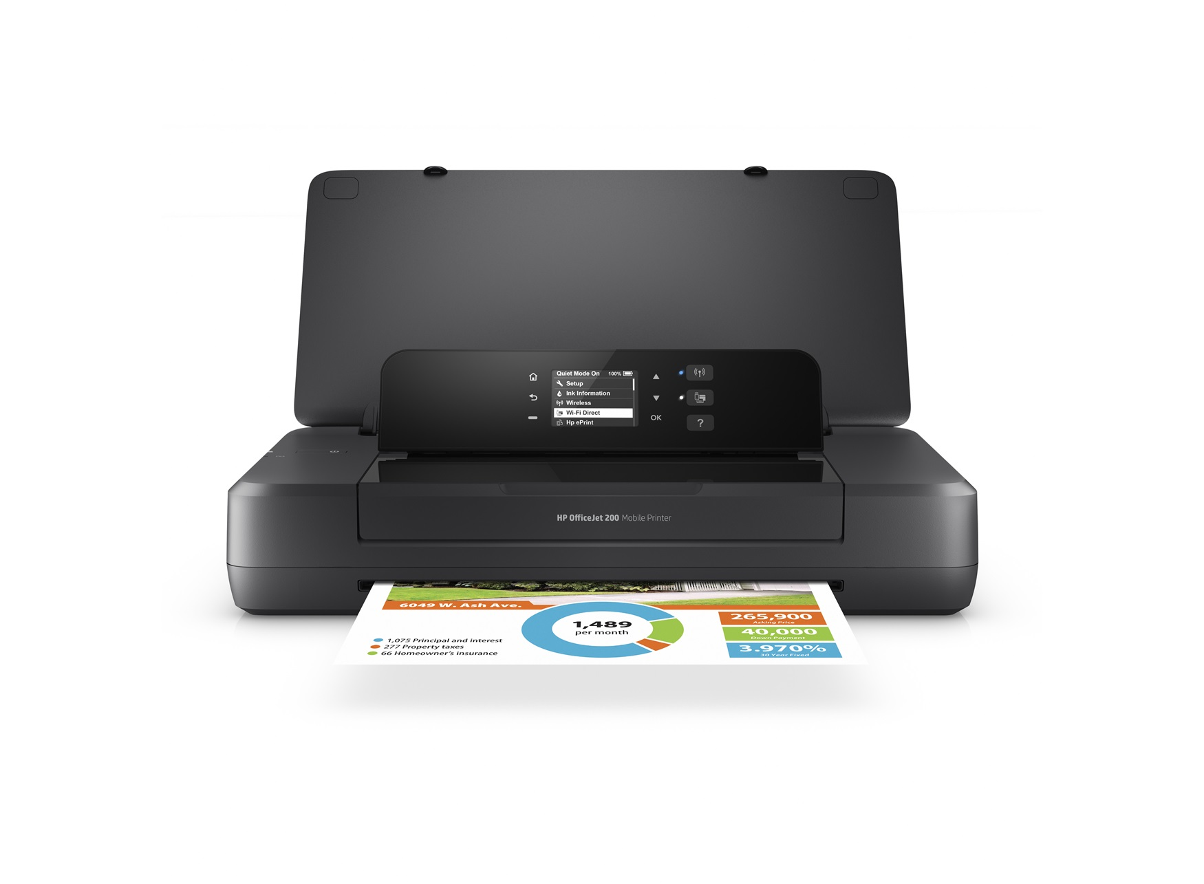 HP Officejet 200 Imprimante portable