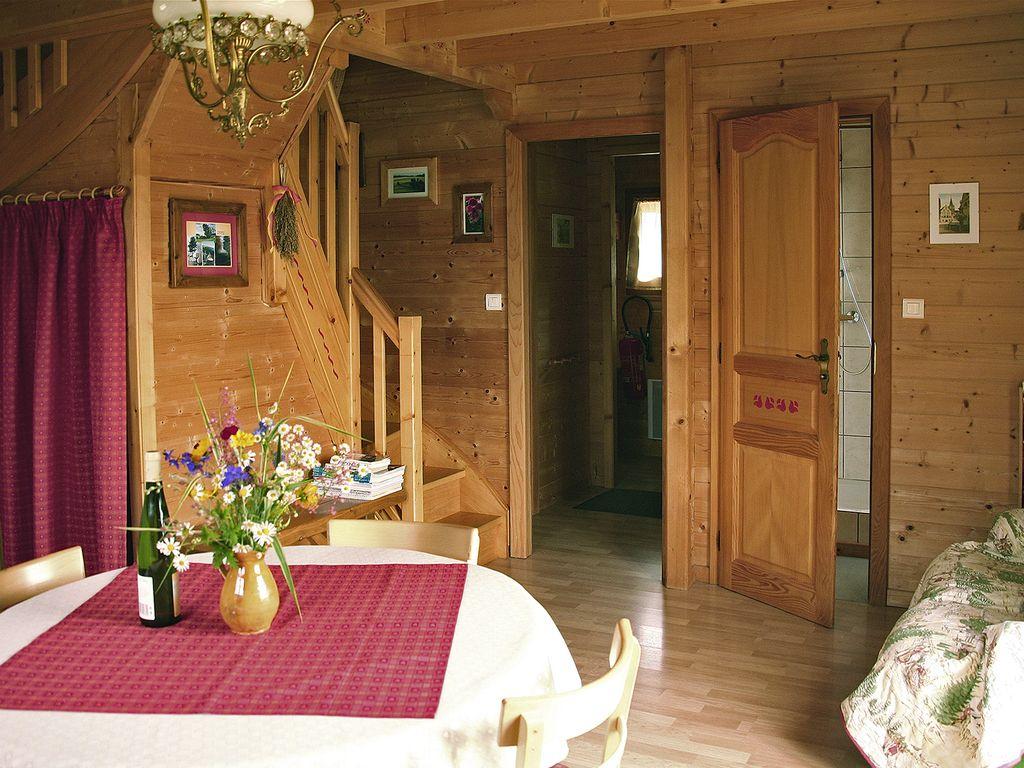 Abritel Location Geishouse Alsace - Chalet en madriers douillet et confortable