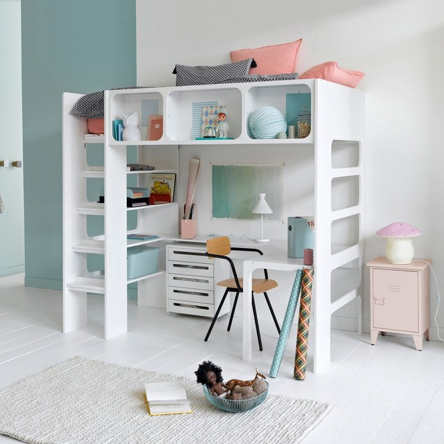 lit mezzanine duplex et son bureau am pm lit enfant am pm. Black Bedroom Furniture Sets. Home Design Ideas
