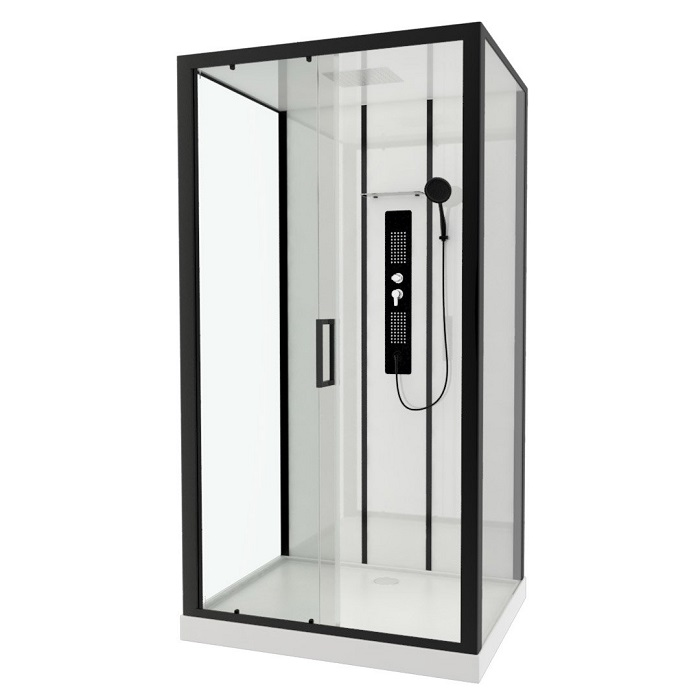 cabine de douche rectangulaire urban cabine de douche leroy merlin. Black Bedroom Furniture Sets. Home Design Ideas
