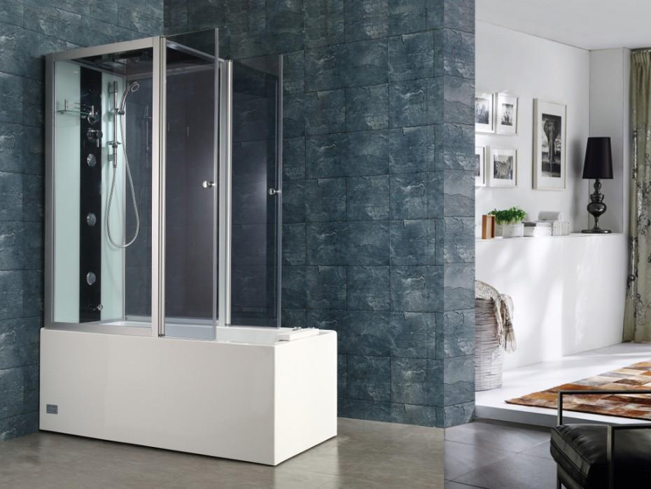 douche baignoire baln o daria pas cher cabine de douche vente unique. Black Bedroom Furniture Sets. Home Design Ideas