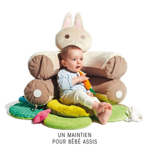 Cale bébé tapis évolutif Sensibul création Oxybul