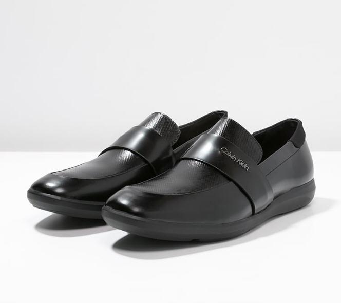 plus récent fc0fb 3ec54 Calvin Klein ZAFAR Mocassins black