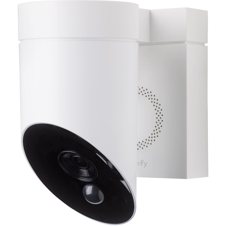 Caméra Connectée Extérieure Blanche Somfy Protect Caméra De