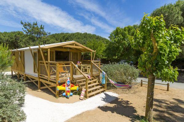 Camping Domaine de la Faurie 4* à Séniergues dans le Lot