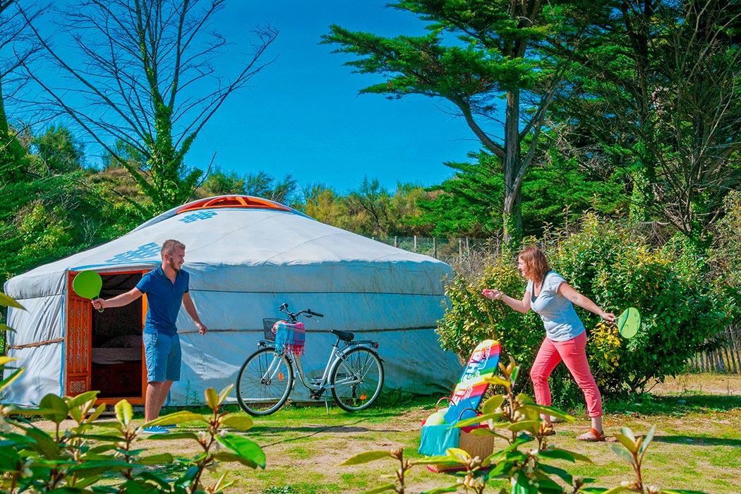 Camping La Côte Sauvage à Saint-Clément-des-Baleines sur l'Ile de Ré en Charente-Maritime