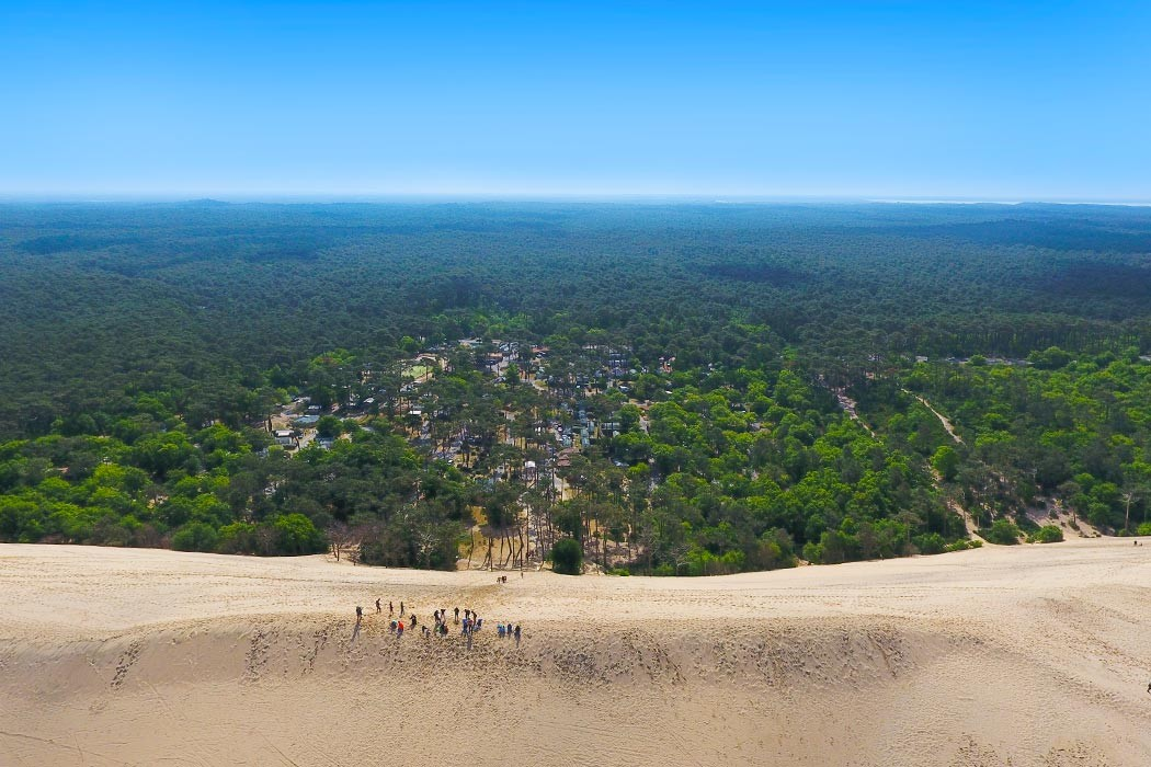 Camping La Forêt du Pilat 3* Dune du Pyla à Pyla-sur-Mer en Gironde