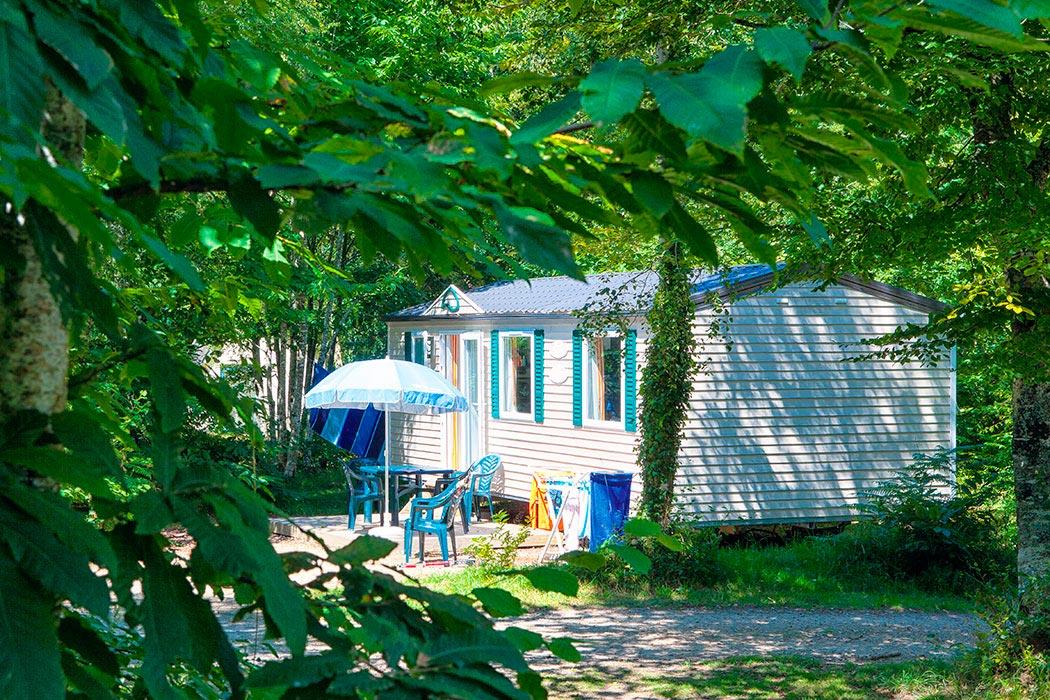 Camping Le Bois de Pleuven 4* à St Yvi en Bretagne