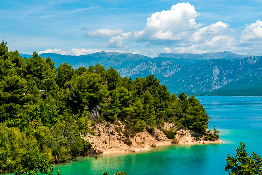 Camping Le Coteau de la Marine 4* à Montagnac-Montpezat dans les Alpes-de-Haute-Provence