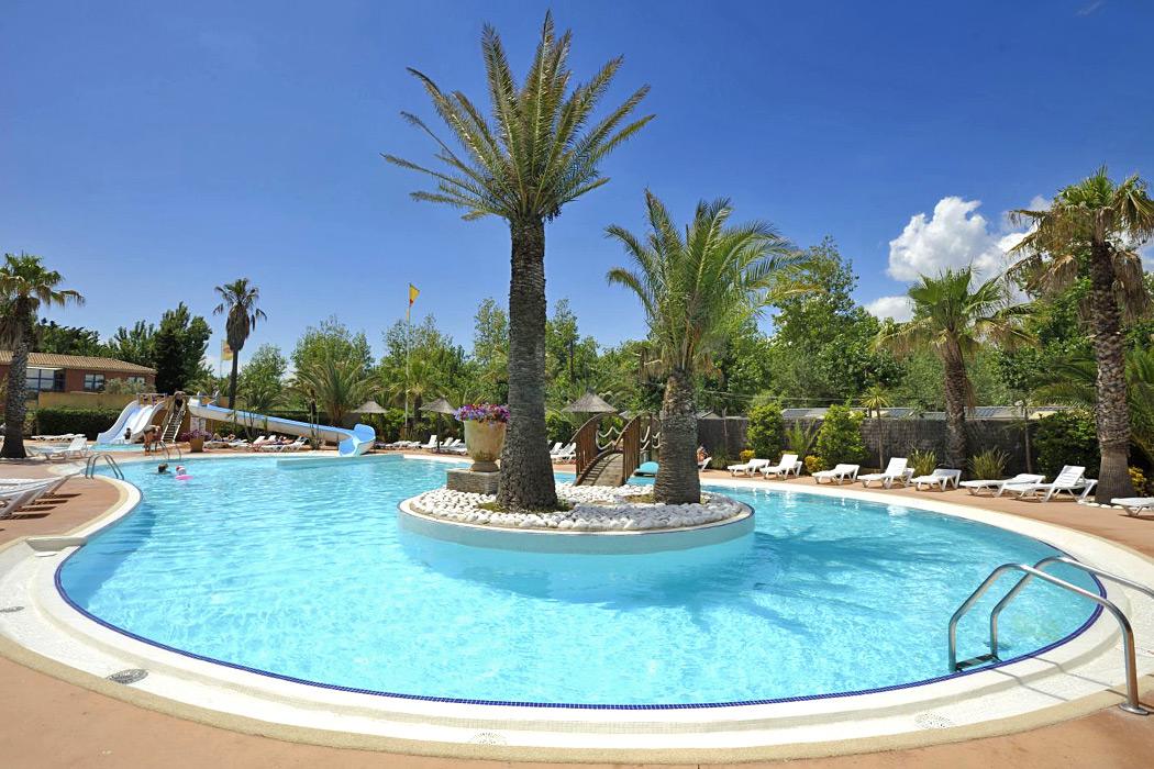 Camping Nouvelle Floride 5* à Marseillan Plage dans l'Hérault